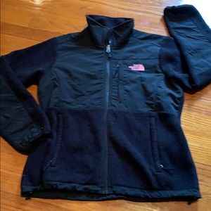 The North Face full zip lined fleece jacket.